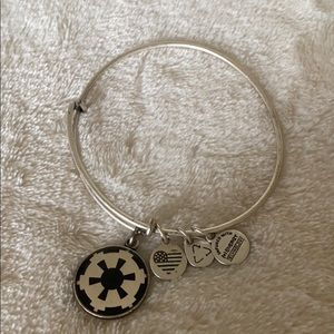 Alex and Ani Silver Star Wars Imperial Bracelet
